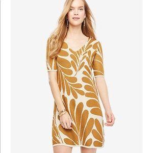 Ann Taylor Leaf Petal Sweater Dress, Size M